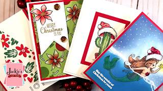 Christmas Cards from Card Kits Past (2018)