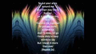 Put Your Arms Around Me lyrics-Natasha Bedingfield,