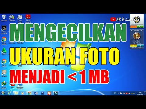 Cara Mengecilkan Ukuran Foto Menjadi Di Bawah 1 Mb Youtube