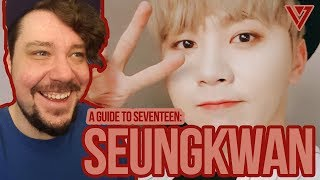 Mikey Reacts to 'Guide To SEVENTEEN: Seungkwan'