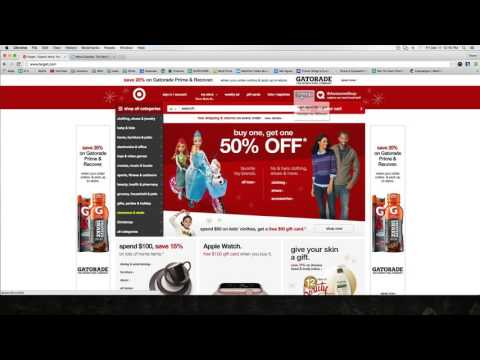 Target as an ebay Retail Drop Shipping Supplier