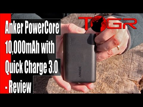 Anker PowerCore 10000mAh with Quick Charge 3.0 - Review