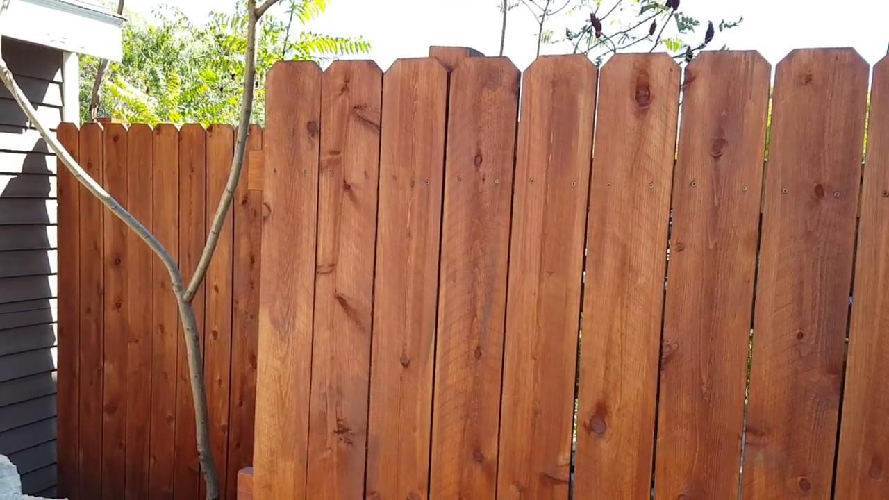 Best Oil For Cedar Fence