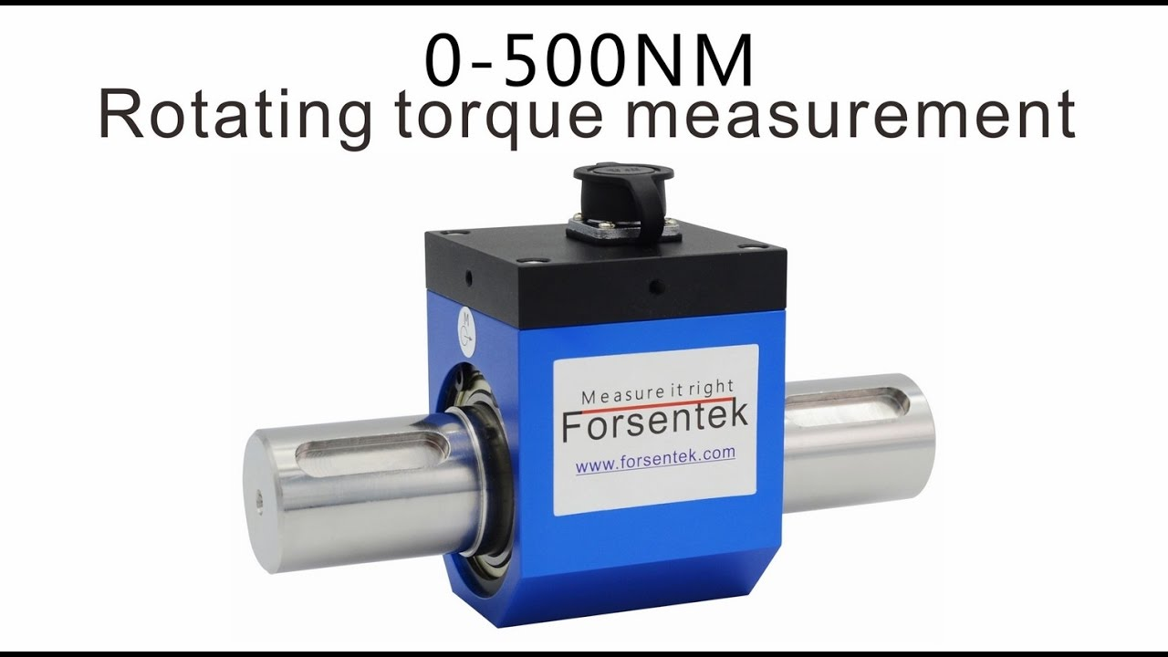 Rotary torque sensor 0 500nm motor torque measurement How to measure torque of a motor