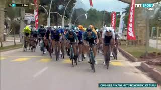 Tour of Turkey Stage 4 Last 2km ( 56.Cumhurbaşkanlığı Bisiklet Turu 4. Etap: Alanya - Kemer) 2021