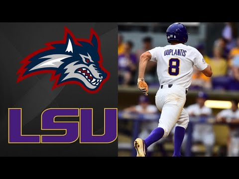 Stony Brook Vs #13 LSU NCAA Baseball Regional | College Baseball Highlights