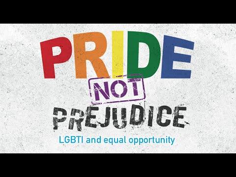 Pride not Prejudice – LGBTI and Equal Opportunity
