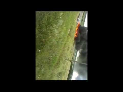 +18 Шок! Люди падают с небес! Опубликовано новое видео сбитого Россией Боинга 777