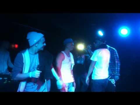 4Tune @ Kaiserkeller 15.9.2012 4Tune feat. Happy Beckmann & Dollar John Part 1