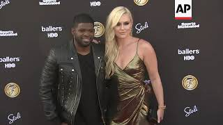 Odell Beckham Jr., Taye Diggs attend Sports Illustrated Fashionable 50 list