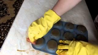 Как быстро без усилий очистить силиконовые формы от пригоревшего жира