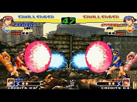 Athena Armor vs Athena Armor KOF 2000