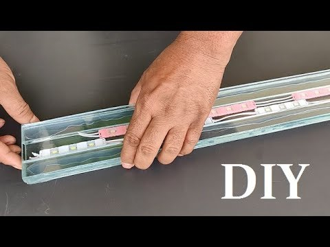 How To Make LED Aquarium Light ANY Size At Home - (DIY)
