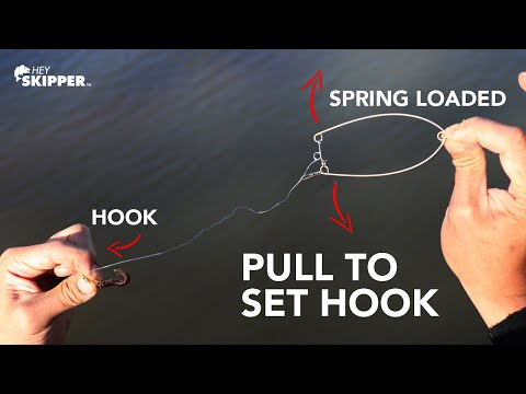 Spring Loaded Self Setting Fishing Hooks?