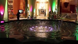 Fountain. Burj Al Arab. Dubai.