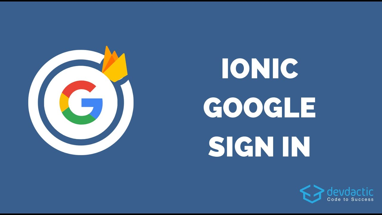 How to Add Capacitor Google Sign In to your Ionic App