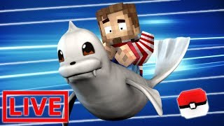GREAT RACE OF DEWGONG!!! - Minecraft PIXELMON DARK! #4 (Modded Minecraft )