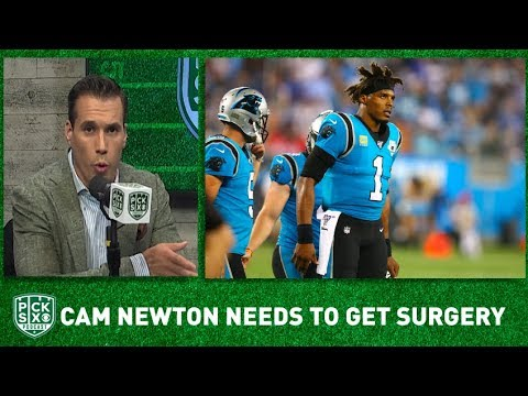 Cam Newton considering foot surgery amid uncertain Panthers future
