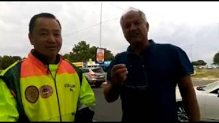 MMC Michael Sun and Eblockwatch founder Andre Snyman talk road laws - Sandton Chronicle