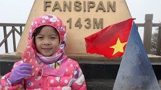 bé trải nghiệm du lịch sapa và lên đỉnh fansipan bằng cáp treo ❤ anan toysreview tv ❤