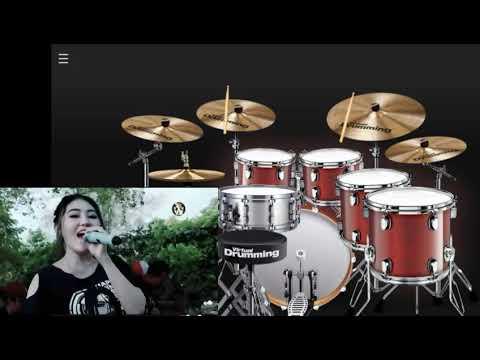 Via Vallen - Ddu Du Ddu Du ( Black Pink Koplo Version) - Virtual Drumming Cover