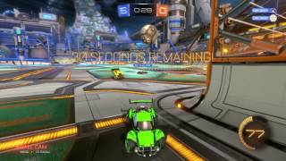 Rocket league 1 of my finest hours :)