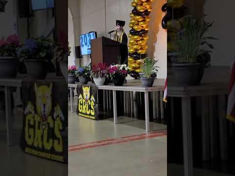 2021 Gold Rush Charter School Valedictorian Speech