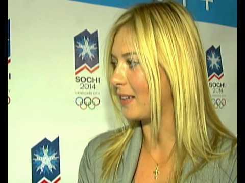 Maria Sharapova interview backing Russia holding the Olympics