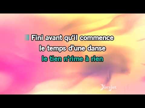 Karaoké Trois petites notes de musique - Lisa Angell *