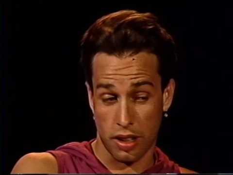 Alexis Arquette--Rare 1993 TV Interview and Cabaret Clip