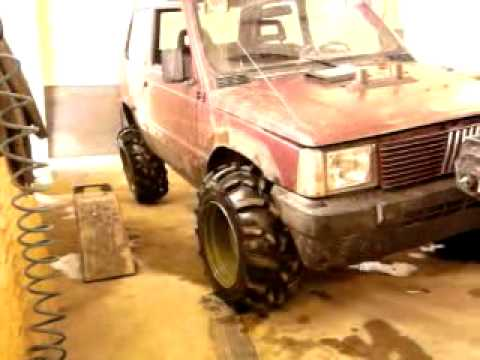 Fiat panda 4x4 1 9d offroad 15 youtube for Panda 4x4 sisley off road