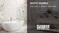 White Marble: Mix, Match, Make It Your Own