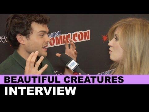 Beautiful Creatures Interview - Alden Ehrenreich, Thomas Mann, Zoey Deutch : Beyond The Trailer