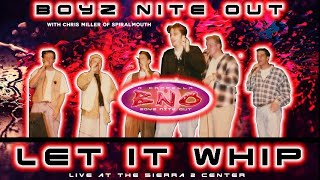 boyz nite out let it whip by the dazz band acappella live at the sierra 2 center