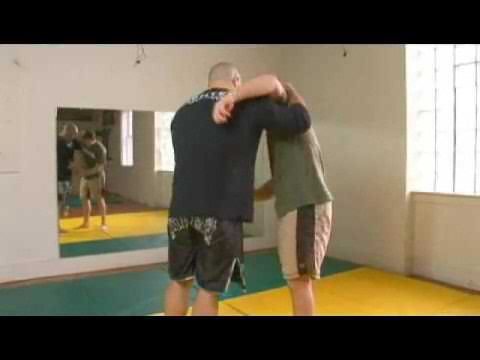 Scissor Takedown in MMA Training