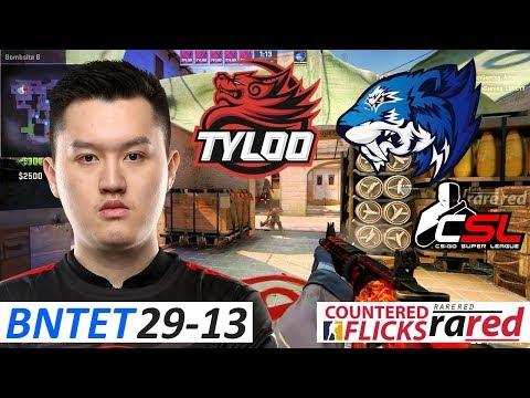 BnTeT 29-13 / TyLoo vs Flash / CS:GO Super League 2017 Finals - 3rd Place Decider
