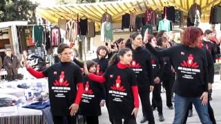 Flash mob Acquasparta 14 febbraio 2013