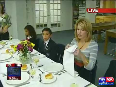 Holly Morris with Christine Chen Fox 5 Etiquette Lessons 1