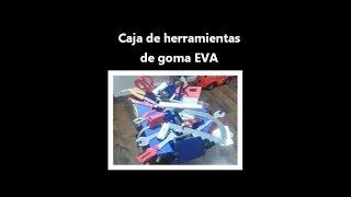 Caja de herramientas de goma EVA