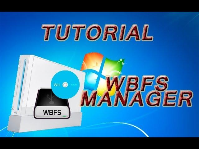 Wbfs Manager Almacenaje De Juegos De Wii Rohan Reloaded