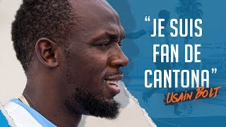 "Usain Bolt ""Je suis fan de Cantona"" ?"