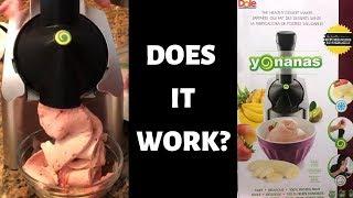 Yonanas Healthy Frozen Dessert Maker Review
