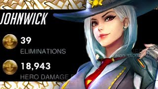 IDDQD NEW ASHE! POTG! [ OVERWATCH ROLE LOCK 2 2 2 ]