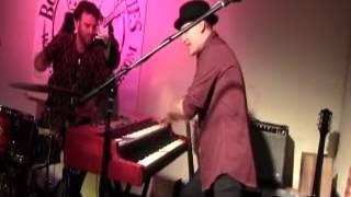 Playing at Boarhunt blues club