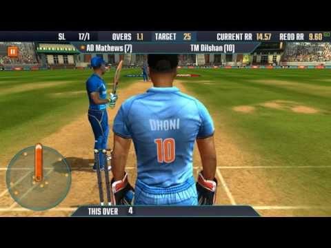 ICC Pro Cricket 2015 PC 60FPS Gameplay Sri Lanka vs India  1080p