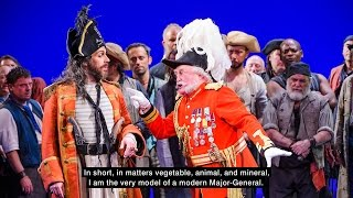 Major-General's Song from The Pirates of Penzance - live and with lyrics! thumbnail