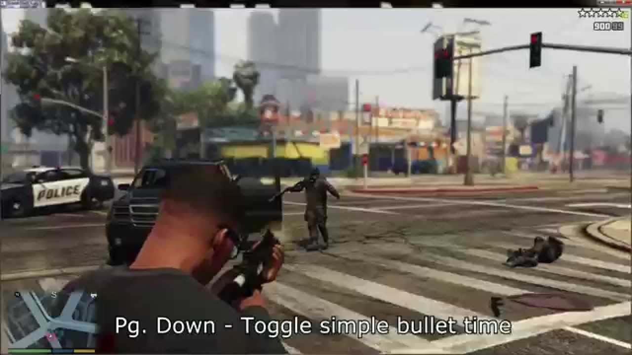 GTA V PC Trainer +9 by LinGon (v1.0) - YouTube