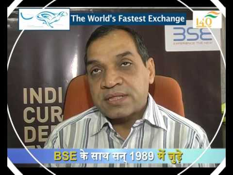 H.C. Patel , Chairman - Patel Stock Brokers Ltd - on 140 years of BSE