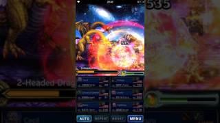 Download lagu FFBE Attack of the 2 Headed Dragon Vortex Trail Boss MP3