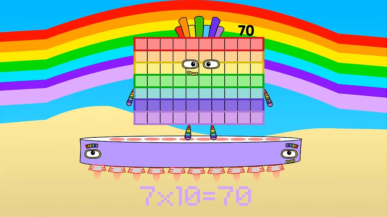 Download Numberblocks Animation: The Seven Times Table
